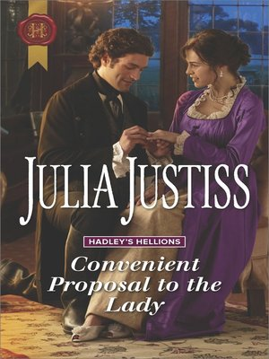 cover image of Convenient Proposal to the Lady--A Regency Romance