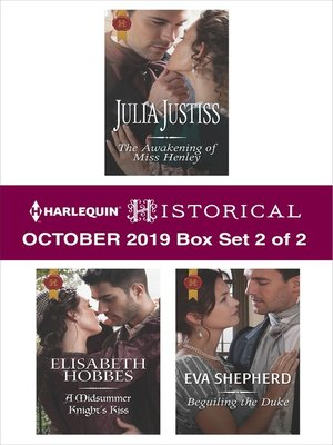 cover image of Harlequin Historical October 2019--Box Set 2 of 2