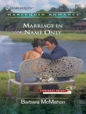cover image of Marriage in Name Only
