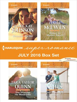 cover image of Harlequin Superromance July 2016 Box Set