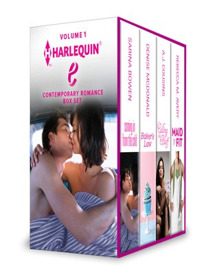 cover image of Harlequin E Contemporary Romance Box Set Volume 1: Coming in from the Cold\Maid to Fit\Calling His Bluff\Baker's Law