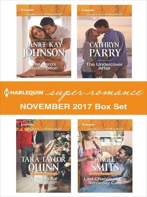 cover image of Harlequin Superromance November 2017 Box Set