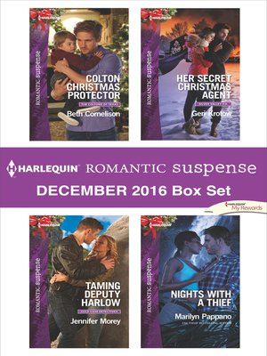 cover image of Harlequin Romantic Suspense December 2016 Box Set