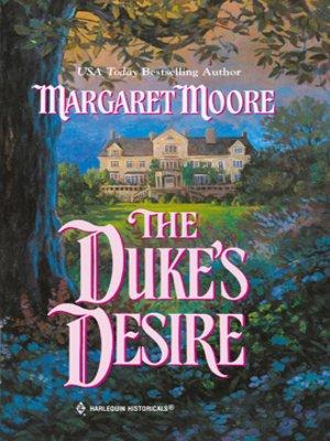 cover image of The Duke's Desire