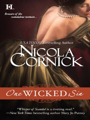 cover image of One Wicked Sin