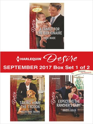 cover image of Harlequin Desire September 2017--Box Set 1 of 2
