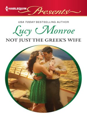 cover image of Not Just the Greek's Wife