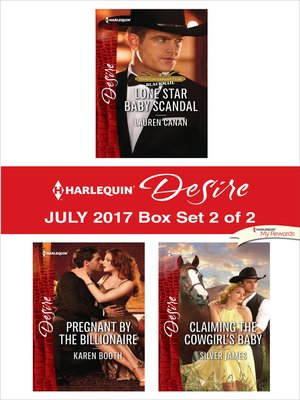 cover image of Harlequin Desire July 2017--Box Set 2 of 2