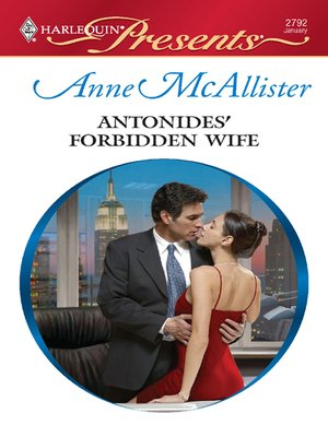 cover image of Antonides' Forbidden Wife