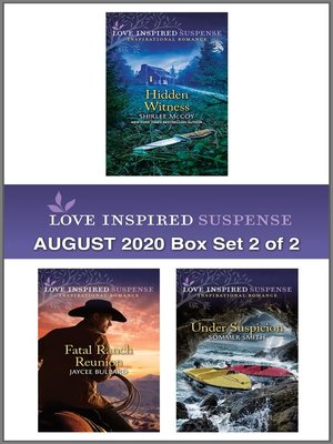 cover image of Harlequin Love Inspired Suspense August 2020--Box Set 2 of 2