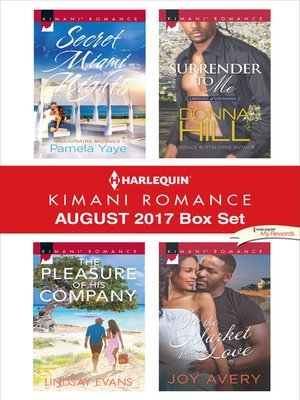 cover image of Harlequin Kimani Romance August 2017 Box Set