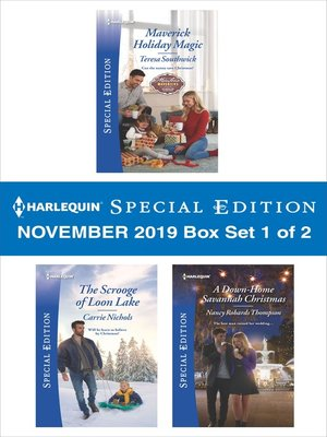 cover image of Harlequin Special Edition November 2019--Box Set 1 of 2