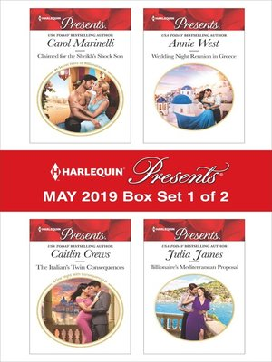 cover image of Harlequin Presents, May 2019, Box Set 1 of 2
