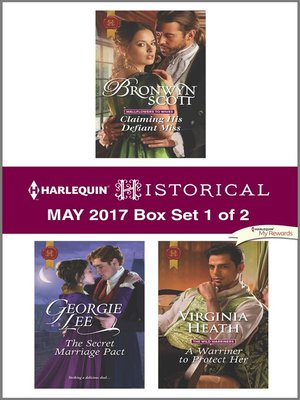 cover image of Harlequin Historical May 2017, Box Set 1 of 2