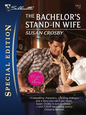 cover image of The Bachelor's Stand-In Wife