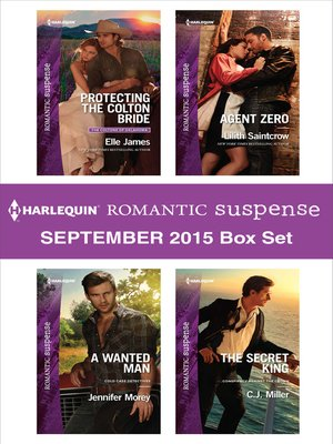 cover image of Harlequin Romantic Suspense September 2015 Box Set