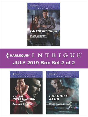 cover image of Harlequin Intrigue July 2019, Box Set 2 of 2