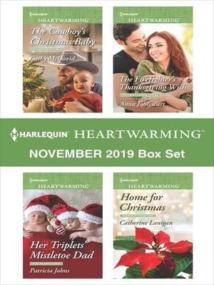 cover image of Harlequin Heartwarming November 2019 Box Set
