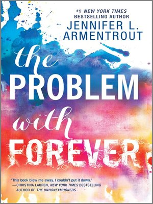 cover image of The Problem with Forever