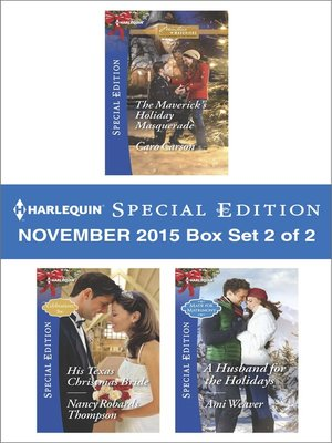 cover image of Harlequin Special Edition November 2015, Box Set 2 of 2
