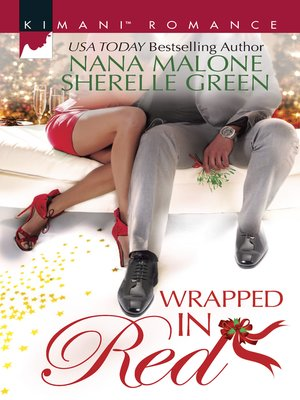cover image of Wrapped in Red: Mistletoe Mantra\White Hot Holiday