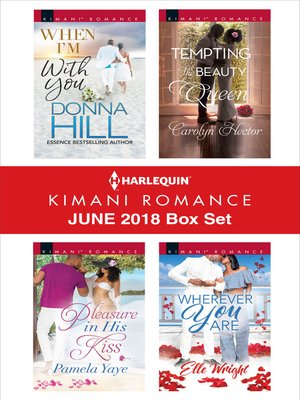 cover image of Harlequin Kimani Romance June 2018 Box Set