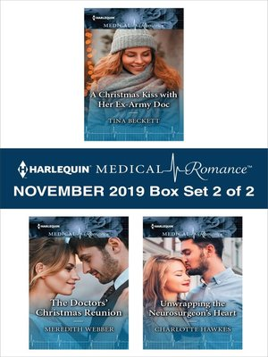 cover image of Harlequin Medical Romance November 2019--Box Set 2 of 2