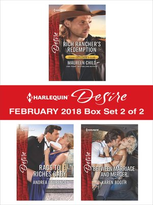 cover image of Harlequin Desire February 2018--Box Set 2 of 2