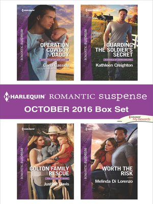 cover image of Harlequin Romantic Suspense October 2016 Box Set