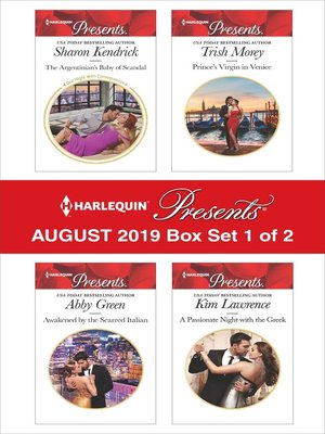 cover image of Harlequin Presents, August 2019, Box Set 1 of 2