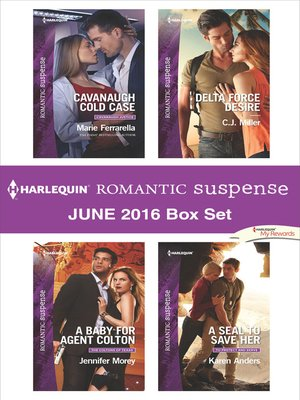 cover image of Harlequin Romantic Suspense June 2016 Box Set