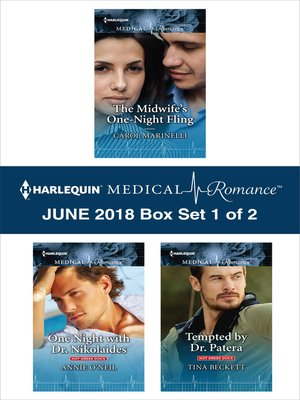 cover image of Harlequin Medical Romance June 2018--Box Set 1 of 2