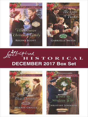 cover image of Love Inspired Historical December 2017 Box Set