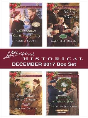 cover image of Love Inspired Historical December 2017 Box Set