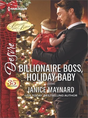 cover image of Billionaire Boss, Holiday Baby