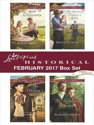 cover image of Love Inspired Historical February 2017 Box Set