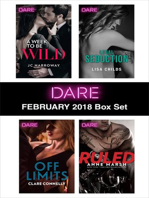 cover image of Harlequin Dare February 2018 Box Set