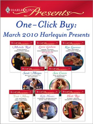 cover image of One-Click Buy: March 2010 Harlequin Presents