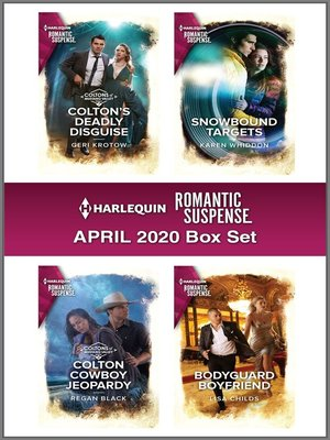 cover image of Harlequin Romantic Suspense April 2020 Box Set