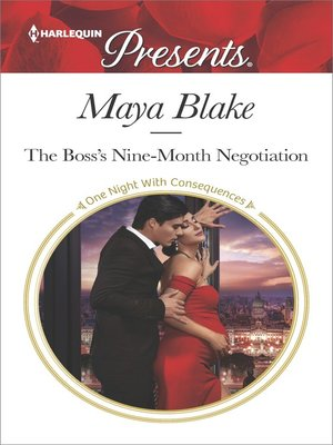 cover image of The Boss's Nine-Month Negotiation
