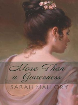 cover image of More Than a Governess