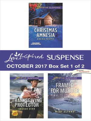 cover image of Harlequin Love Inspired Suspense October 2017--Box Set 1 of 2