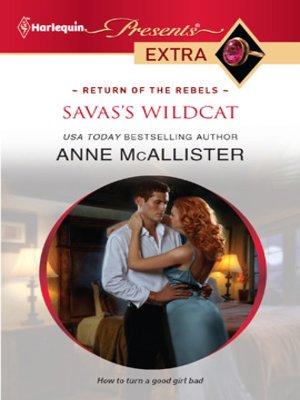 cover image of Savas's Wildcat
