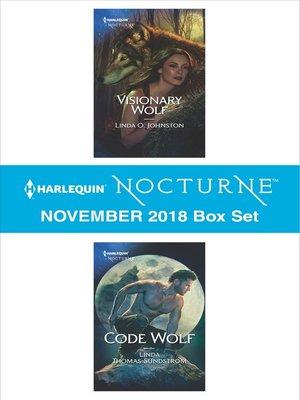 cover image of Harlequin Nocturne November 2018 Box Set