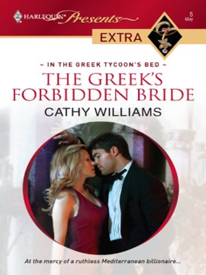 cover image of The Greek's Forbidden Bride