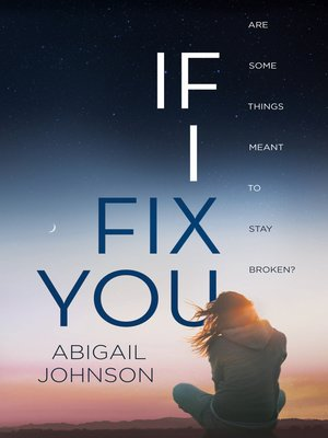 cover image of If I Fix You