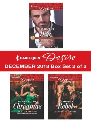 cover image of Harlequin Desire December 2018 Box Set: 2 of 2