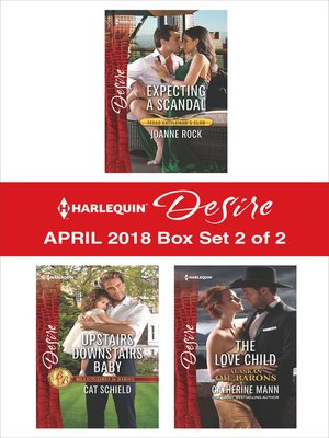 cover image of Harlequin Desire April 2018--Box Set 2 of 2