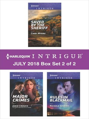 cover image of Harlequin Intrigue July 2018--Box Set 2 of 2