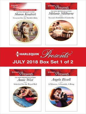 cover image of Harlequin Presents July 2018--Box Set 1 of 2